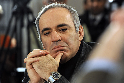 Grand Master of Russian Liberal Opposition Kasparov...